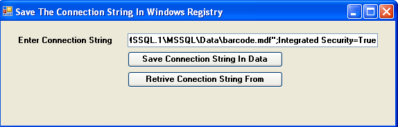 how to get the windows registry